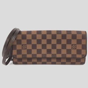 Louis Vuitton Twin Gm Damier Ébène Canvas